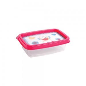 Imagem do produto - Pote de Plástico Retangular 180 ml Clic Coruja