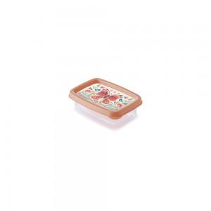 Imagem do produto - Pote de Plástico Retangular 180 ml Clic Borboleta