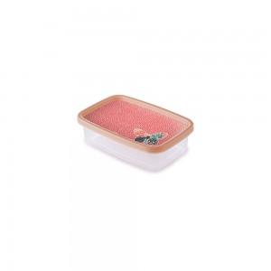 Imagem do produto - Pote de Plástico Retangular 620 ml Clic Borboleta