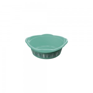 Imagem do produto - Bacia de Plástico Redonda 3,4 L com Pegador Lavanderia Lettering