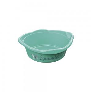 Imagem do produto - Bacia de Plástico Redonda 5,8 L com Pegador Lavanderia Lettering