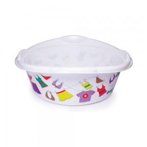 Imagem do produto - Bacia de Plástico Redonda 9,4 L com Pegador Varal