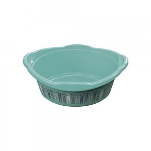 Imagem do produto - Bacia de Plástico Redonda 9,4 L com Pegador Lavanderia Lettering