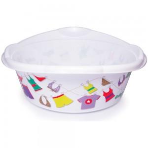 Imagem do produto - Bacia de Plástico Redonda 17,1 L com Pegador Varal