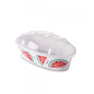 Imagem do produto - Porta Pão de Plástico com Tampa Melancia