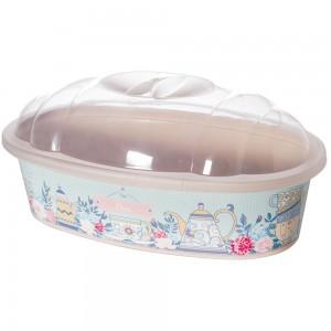 Imagem do produto - Porta Pão de Plástico com Tampa Café da Manhã Xícara