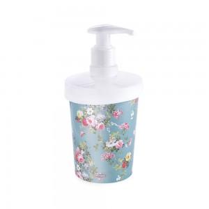 Imagem do produto - Porta Sabonete Líquido de Plástico 360 ml Floral