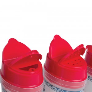 Imagem do produto - Porta Condimentos de Plástico com 6 Unidades e Base Coruja
