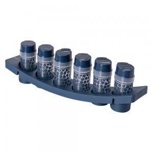Imagem do produto - Porta Condimentos de Plástico com 6 Unidades e Base Fazenda