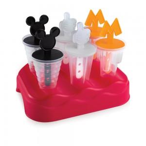 Imagem do produto - Forma de Plástico para Sorvete com 1 Base e 6 Unidades Mickey
