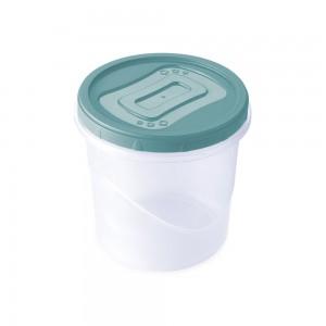 Imagem do produto - Pote de Plástico Redondo 1,8 L Rosca
