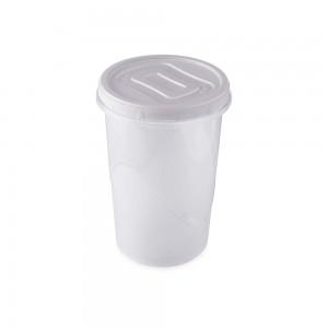 Imagem do produto - Pote de Plástico Redondo 2,6 L Rosca