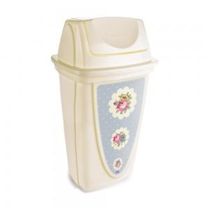 Imagem do produto - Lixeira 14 L | Floral Provençal - Basculante