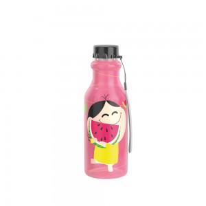 Imagem do produto - Garrafa de Plástico 500 ml com Tampa Rosca Retrô Mônica Toy Magali
