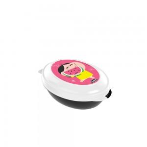 Imagem do produto - Saboneteira de Plástico com Tampa Fixa Mônica Toy Magali