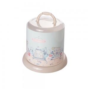 Imagem do produto - Porta Panetone de Plástico com Tampa Rosca e Alça Café da Manhã