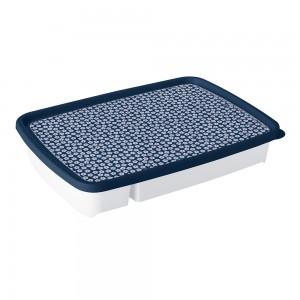 Imagem do produto - Porta Talheres de Plástico com Tampa 4 Divisórias Fazenda