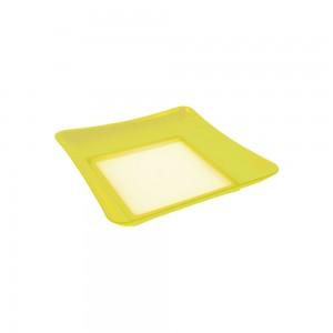 Imagem do produto - Prato de Plástico de Sobremesa Neon