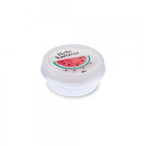 Imagem do produto - Pote de Plástico Redondo 390 ml Rosca Melancia