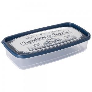 Imagem do produto - Pote de Plástico Retangular 1,43 L Clic Fazenda
