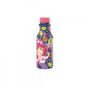 Imagem do produto - Garrafa de Plástico 500 ml com Tampa Rosca Retrô Moranguinho