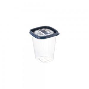 Imagem do produto - Pote de Plástico Quadrado 950 ml Clic Fazenda