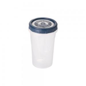 Imagem do produto - Pote de Plástico Redondo 550 ml Rosca Fazenda