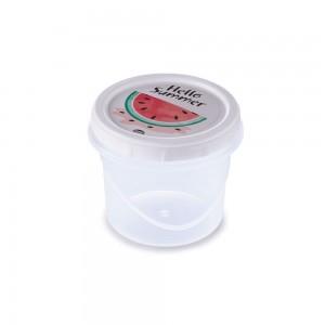 Imagem do produto - Pote de Plástico Redondo 720 ml Rosca Abacaxi