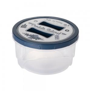 Imagem do produto - Pote de Plástico Redondo 1,4 L Rosca Fazenda