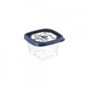 Imagem do produto - Pote de Plástico Quadrado 200 ml Clic Fazenda