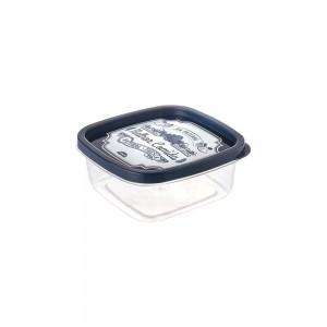 Imagem do produto - Pote de Plástico Quadrado 580 ml Clic Fazenda