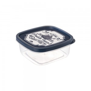 Imagem do produto - Pote de Plástico Quadrado 1,1 L Clic Fazenda