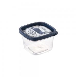 Imagem do produto - Pote de Plástico Quadrado 500 ml Clic Fazenda