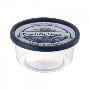 Imagem do produto - Pote de Plástico Redondo 1,4 L Clic Fazenda