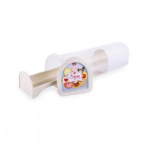 Imagem do produto - Porta Biscoito de Plástico Rodondo com Tampa Café da Manhã
