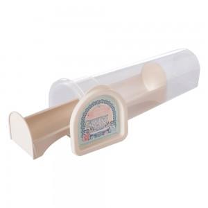 Imagem do produto - Porta Biscoito de Plástico Rodondo com Tampa Café da Manhã Xícara