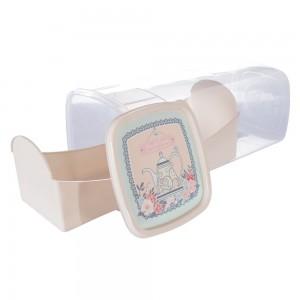 Imagem do produto - Porta Pão ou Torrada de Plástico Café da Manhã Xícara