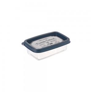 Imagem do produto - Pote de Plástico Retangular 180 ml Clic Fazenda