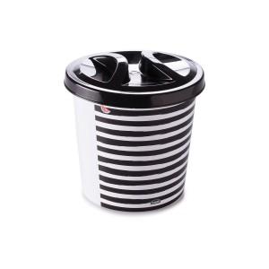 Imagem do produto - Lixeira de Plástico 2,5 L com Tampa para Pia Melancia