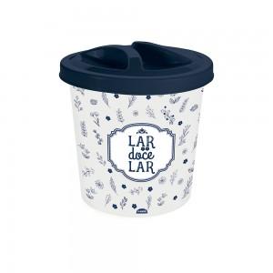 Imagem do produto - Lixeira de Plástico 2,5 L com Tampa para Pia Fazenda