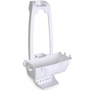 Imagem do produto - Suporte de Plástico para Box Mármore Branco