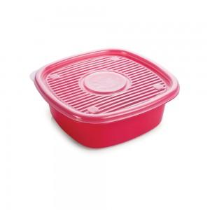 Imagem do produto - Pote de Plástico Quadrado 1 L Pop