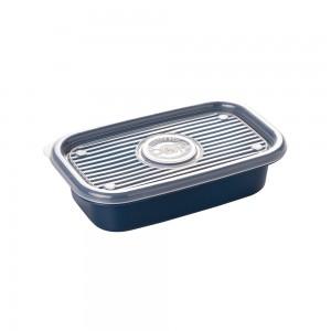 Imagem do produto - Pote de Plástico Retangular 520 ml Pop