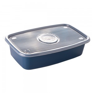 Imagem do produto - Pote de Plástico Retangular 2,7 L Pop