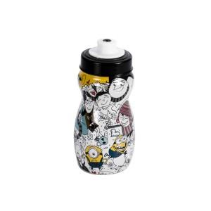 Imagem do produto - Garrafa Squeeze de Plástico 300 ml com Tampa Rosca Meu Malvado Favorito