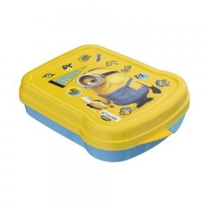 Imagem do produto - Sanduicheira de Plástico com Tampa Fixa Meu Malvado Favorito