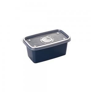 Imagem do produto - Pote de Plástico Retangular 380 ml Pop
