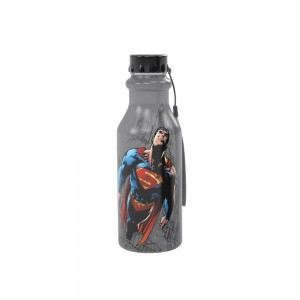 Imagem do produto - Garrafa de Plástico 500 ml com Tampa Rosca Retrô Superman