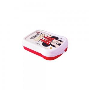 Imagem do produto - Sanduicheira de Plástico com Tampa Fixa Minnie
