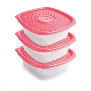Imagem do produto - Conjunto de Potes de 1 L - 3 Unidades | Pop
